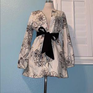 Arden B floral Dress blazer